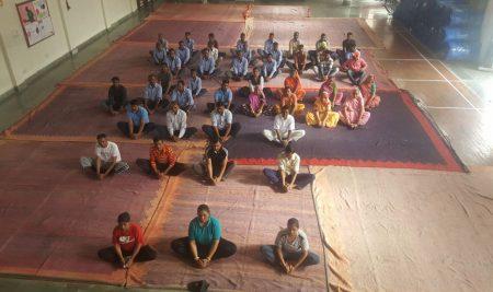 Yoga Day Celebration at MCGS