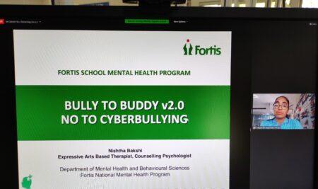 Webinar @ Bully to Buddy v2.0 – No to Cyberbullying