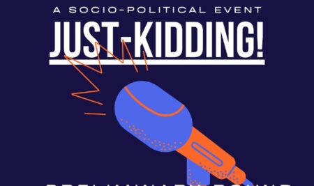 """""""JUST KIDDING!"""" – Stand-up Comedy Competition"""