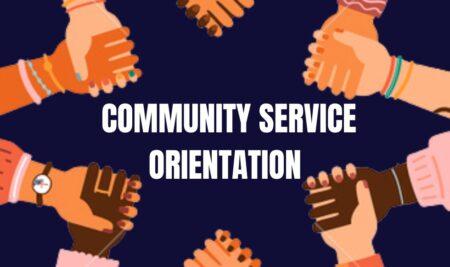 Community Service Orientation